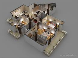 simple restaurant kitchen layout 3d floor designs serve many of