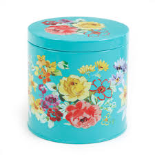 turquoise kitchen canister set and platter and turquoise canisters