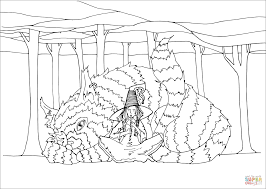 beastmaster witch coloring page free printable coloring pages