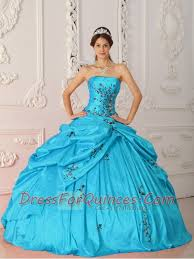 aqua green quinceanera dresses blue gown strapless quinceanera dresses with taffeta