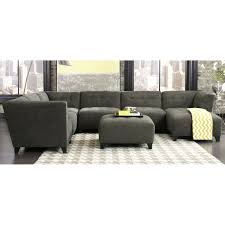 shop sectional sofas and leather sectionals rc willey furniture granite gray classic modern 6 piece sectional blaire