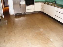 tile ideas for kitchen floors oak shaker kitchen cabinets with tile floor kitchen cabinet