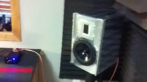 Speaker Designs Kraemer Designs Aluminati Speakers After Assembly Test Youtube