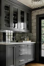 kitchen cabinets with silver handles 25 ways to style grey kitchen cabinets