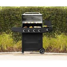 gas bbq with stainless lid become the best backyard chef with sears