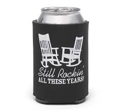 wedding koozie still rockin wedding koozie wedding koozies