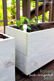 Diy Self Watering Herb Garden Building Raised Sub Irrigated Beds