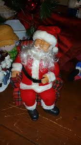 find more battery operated snoring santa in chair for sale at up