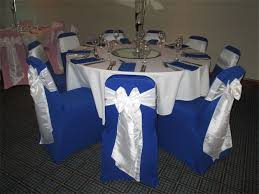 royal blue chair covers rainbow chair covers chair cover styles