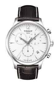 tissot bracelet leather images Tissot tradition chronograph t0636171603700 png