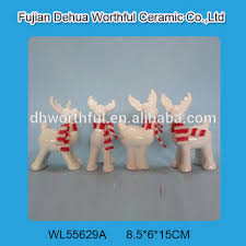 Ceramic Reindeer Christmas Decorations by List Manufacturers Of White Ceramic Reindeer Figurines Buy White