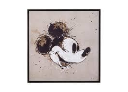 abstract mickey art