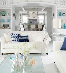coastal livingroom coastal living room color ideas from better homes and gardens