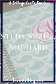 study smart not hard textbook productivity and college