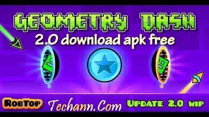 geometry dash apk geometry dash 2 0 apk for free techann
