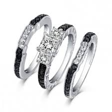 wedding ring set for wedding ring sets cheap bridal ring sets on sale lajerrio jewelry