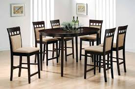 Pub Table Set Dinning Bar Stools With Backs Home Bar Counter Height Stools Pub