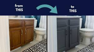 what paint is best for bathroom cabinets chalk paint cabinets cheap bathroom renovation