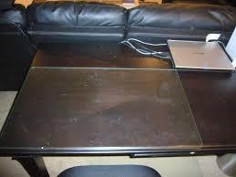 Desk Mat Clear by Glass Desk Blotter Pads Desk Protectors Desk Blotters Mats