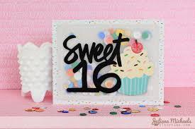 Sweet Birthday Cards Vellum Sequin Shaker Pocket Tutorial