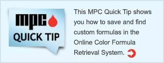 online color formula retrieval