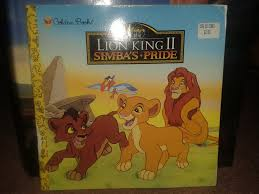 lion king 2 simba u0027s pride usa golden book daniellee14
