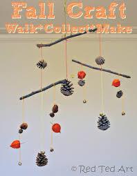 kids crafts autumn mobile red ted art u0027s blog