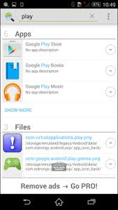 image search android how to quickly search for files contacts apps on android