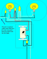 how to add a receptacle to an existing circuit electrical online