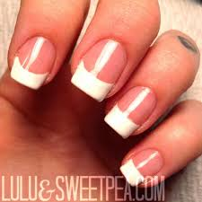 lulu u0026 sweet pea easy at home gel french manicure
