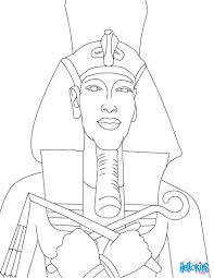 pharaoh akhenaten online coloring pages hellokids com