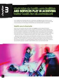 Health Care Services Australia Health Pdhpe Hsc E Chapter Ch3 Health Professional Health Care