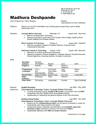 Example Of The Best Resume by Internship Resume Samples For Computer Science Resume For Your