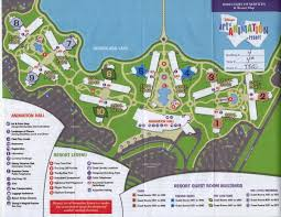 Orlando Outlets Map by Staying At The Art Of Animation Resort Info For The Grown Ups
