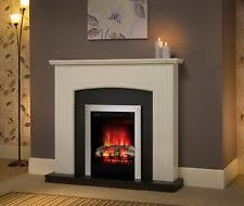 White Electric Fireplace Electric Fireplace Suite Ebay