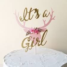 antler cake topper best 25 baby shower cake toppers ideas on baby cake