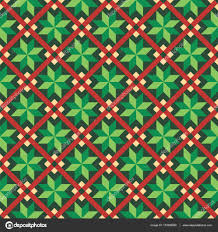 green christmas wrapping paper seamless christmas wrapping paper pattern stock vector