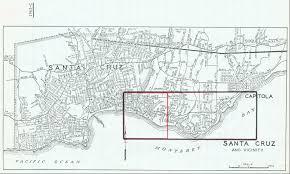 Ucsc Map 1962 C Santa Cruz County Flight Sch University Library