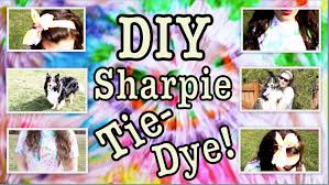 diy sharpie tie dye a fun and easy way to tie dye youtube