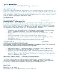 Realtor Resume Example by Example Resume Project Manager Templates Financial With 17
