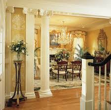 Interior Home Columns Photos Hgtv Eclectic Living Room With Traditional Columns And A