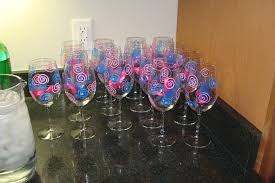 wine glass party favor personalized wine glasses wedding favors wine wedding favors in