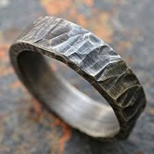 rustic mens wedding bands shop men s rugged wedding rings on wanelo