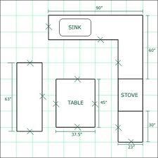 large kitchen floor plans kitchen design galley kitchen designs contemporary kitchen large