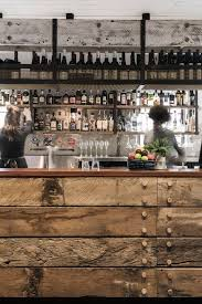 back in australia with a rustic and industrial bar design bar