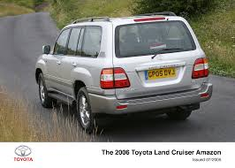 land cruiser 2005 land cruiser amazon exterior 2005 2008 toyota uk media site