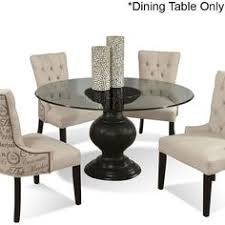 round glass top pedestal dining table another small glass table for our ultra small kitchen jessica