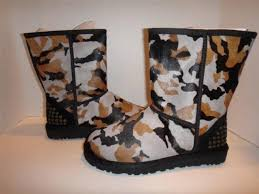 womens boots size 6 ugg australia rowland camouflage black womens boots size 6 ebay