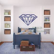 aliexpress com buy modern diamond pattern wall sticker wall