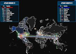 Real Time Maps Real Time Map Of Global Cyber Attacks Understanding Empire